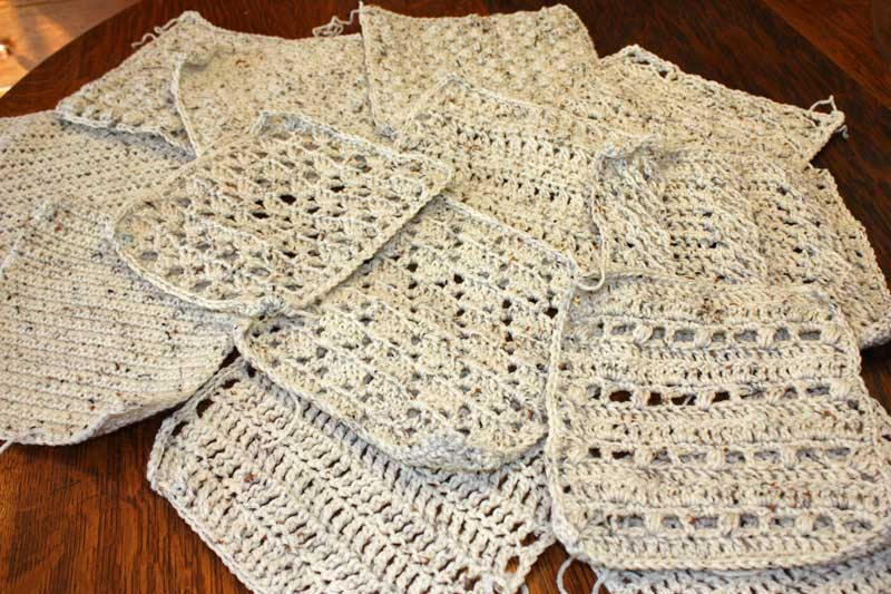 Sampler Afghan Knitting Pattern Ipaafo For
