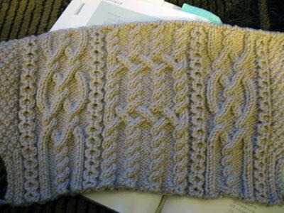Aran Knitting Cable Stitches : k n i t t i n g p a r k: November 2009